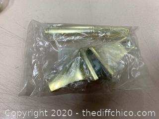Moen P5080PB Polished Brass Toilet Paper Holder (J228)
