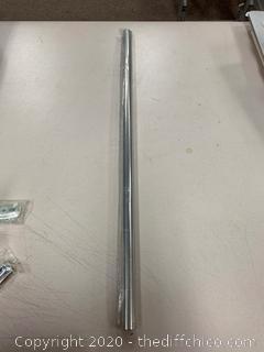 Franklin Brass 1424 - Futura 24 Inch Towel Bar, Polished Chrome (J248)