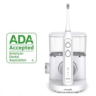 ($159) Waterpik Sonic-Fusion Professional Flossing, Electric Toothbrush & Water Flosser Combo in One, SF-02, White