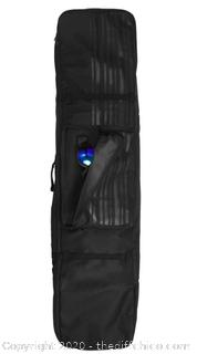 Winterial Snowboard Bag with Wheels, Double Layered Water Resistant (J13)
