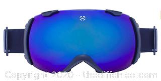 Winterial Globe Ski and Snowboard Goggles - Black (J21)