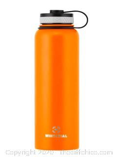Winterial 40oz Stainless Steel Water Bottle - Orange (J24)
