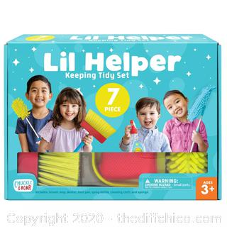 NEW Chuckle & Roar Lil Helper Cleaning Role Play Set