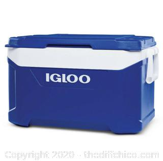 Igloo BMX 50 Quart Cooler - /Carbonite Blue