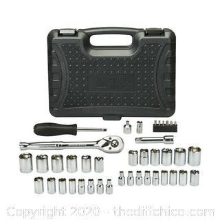 Blue Ridge Tools 41pc Mechanics Socket Kit