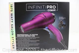 InfinitiPro by Conair Hair Dryer 1875 Watt