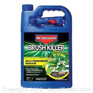 BioAdvanced 704655A Brush Killer Plus, Kills Poison Ivy, Blackberry, Kudzu, 1...