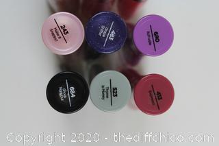 LOT OF 12 NEW Sally Hansen Insta-Dri Nail Colors 0.31 oz