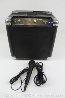 Ion Tailgater Bluetooth Ipa57 Portable Speaker System