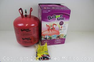 Balloon Time Disposable Helium Tank 14.9 cu.ft
