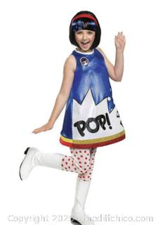 L.O.L. Surprise Pop Heart Deluxe Child Halloween Costume Size Small 4-6X
