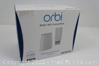 Netgear Orbi Whole Home Mesh WiFi System 2-Pack AC2200 MU-MIMO Triband