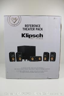 ($450) Klipsch Reference Theater Pack 5.1 Channel Surround Sound System