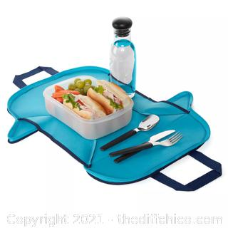 BYO Placemat Lunch Tote - Gray/Blue