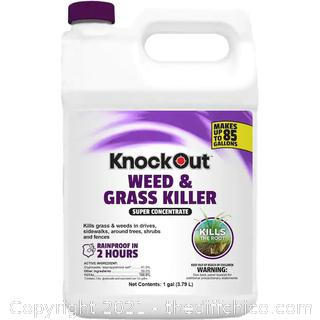 NEW Knock Out 1-Gallon Concentrated Weed and Grass Killer