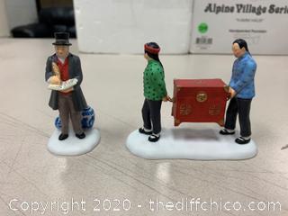 Dept 56 Dickens Village Fine Asian Antiques Collectibles (J5)
