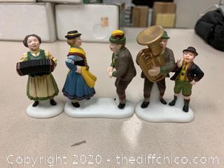 Department 56 Alpine Village Polka Fest Figures (J17)
