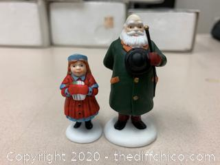 """Dept 56 Heritage Collection """"Yes Virginia"""" Figures (J20)"""