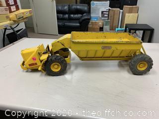 Model Toys Wooldridge Manufacturing Bottom Dump Earth Hauler 1950's (J24)