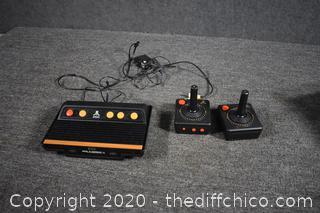 Atari Flashback plus 2 controllers