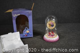 NIB Disney Anniversary Clock - box in poor shape