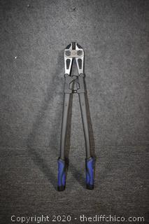 24 1/2in long Kobalt Bolt Cutters