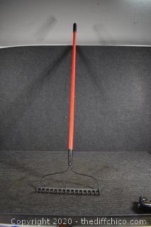 62in long Rake