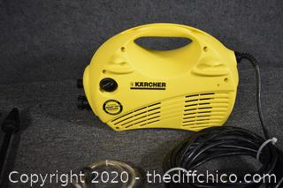 Working Karcher Pressure Washer
