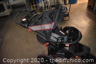New Folding Range Jogger Baby Stroller