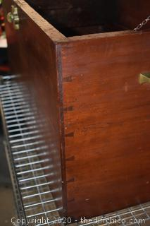 Vintage Dove Tail Trunk