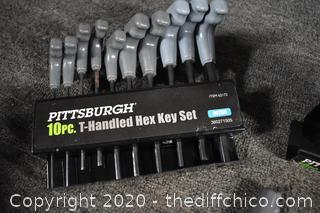T-Handles Hex Key Sets