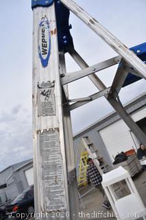 Werner Aluminum 8ft Ladder