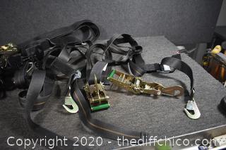 Tow Trailer Strap Set