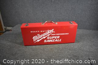 Milwaukee Super Sawzall - Like New