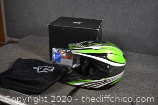 NIB FoxRacing Helmet - size L