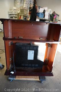 """Electric Fire Place Works 41""""x15""""x42-1/2"""""""