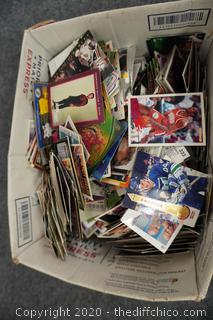Box Of Sport Cards