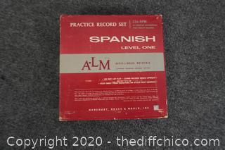 Practice Record Set Spanish Level 1
