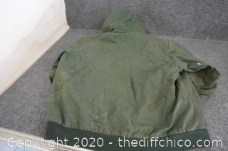 Craftsman Jacket 2XL Zipper Needs Repair