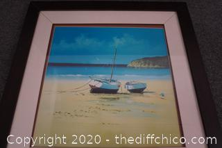 David Short Framed Painting