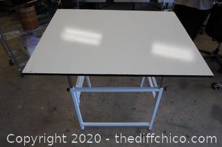 "Drafting Table 31""x 42"" X31-1/2"""