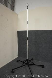 Rolling IV Pole