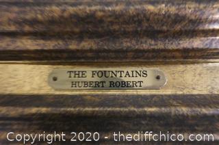 The Fountains By Hubert Robert
