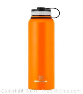 Winterial 40oz Stainless Steel Water Bottle - Orange (J2)