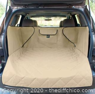 Frontpet SUV Pet Cargo Liner With Quilted Top - XL Tan (J7)