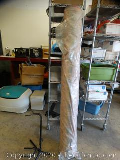 Large Roll Of Material 6' tall