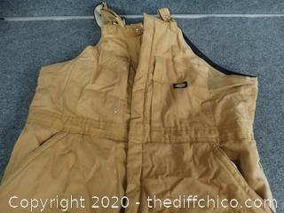 Dickies Insulated Coveralls XXL REG