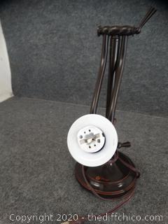 Desk Lamp Untested (NO BULB)