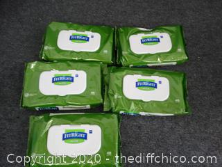 New Fit Right Aloe Cleansing Wipes