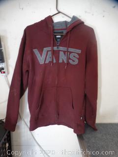 Vans Zip UP Sweatshirt MED